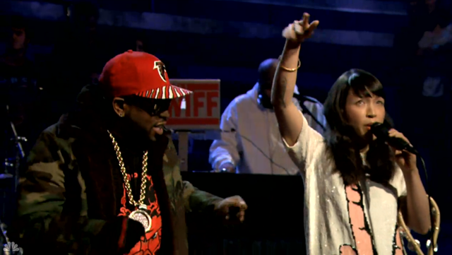 Big Boi Little Dragon Mama Told Me on Late Night With Jimmy Fallon