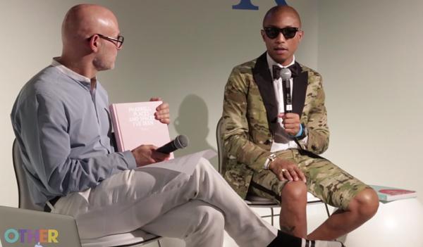 Pharrell Williams Speaks at Design Miami Video