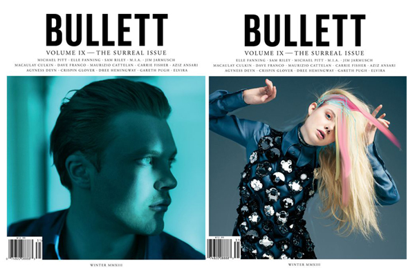 Elle Fanning & Michael Pitt for BULLETT Winter 2013