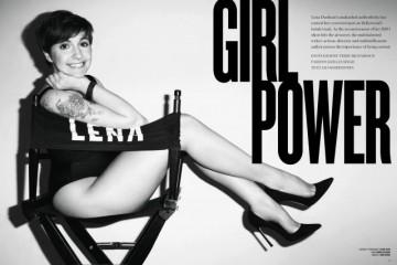 Lena Dunham for V Magazine by Terry Richardson