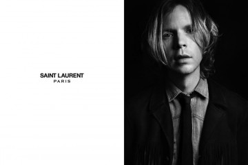Saint Laurent Spring Summer 2013 Beck Hansen Edie Campbell
