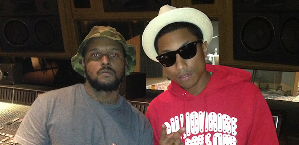 Pharrell Williams SchoolBoy Q in the Studio