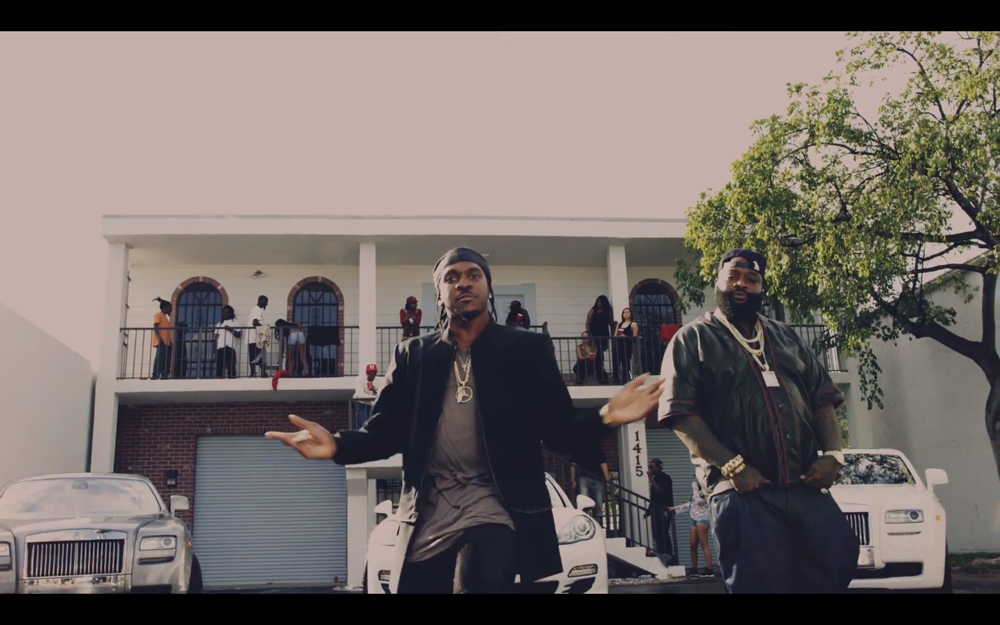 Pusha T Rick Ross Millions Music Video
