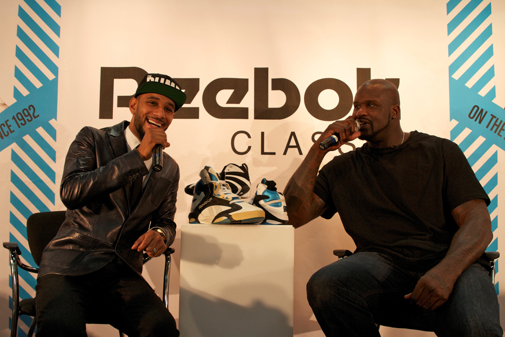 Reebok Classic Project Las Vegas Shaquille O Neal Swizz Beatz Tyga ddc7d507d