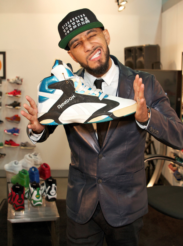 Swizz with the OG Shaq Attaq (size Men's 20)