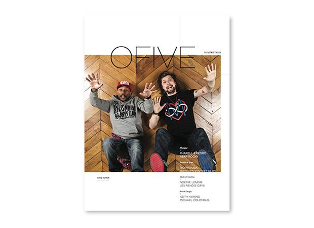 OFIVE Magazine Issue 3 Pharrell Williams Pedro Winter
