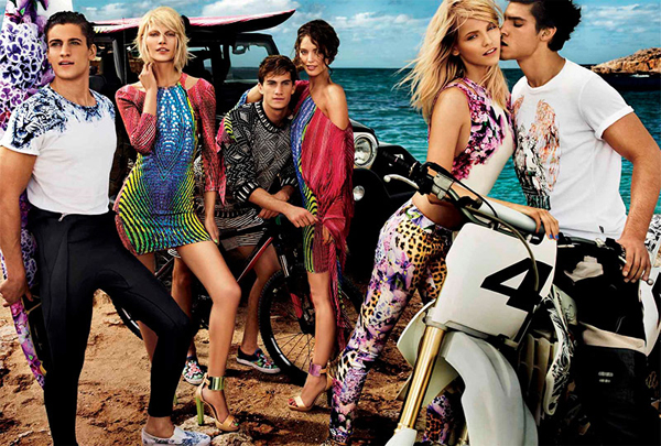 Just Cavalli Spring Summer 2013 Campaign
