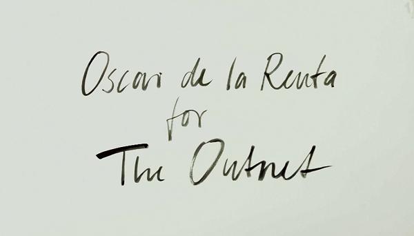 Oscar de la Renta for The Outnet
