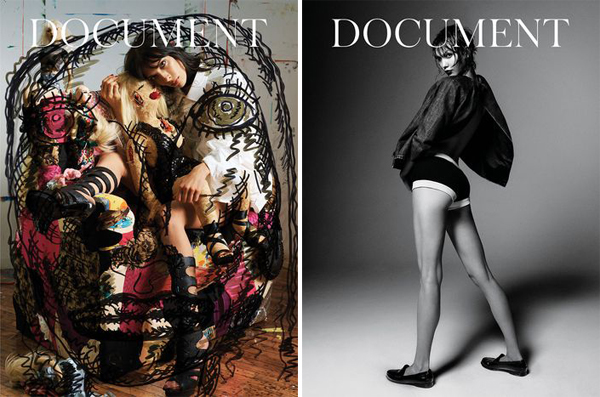 Karlie Kloss Jamie Bochert for Document No