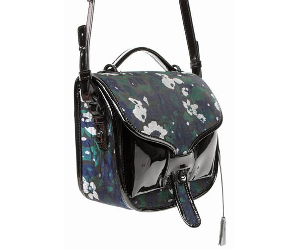 Opening Ceremony OC Ace Floral Satchel