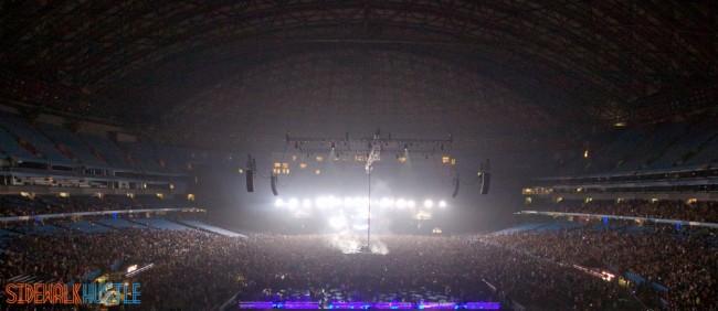 Swedish House Mafia One Last Tour Toronto Rogers Centre Wide