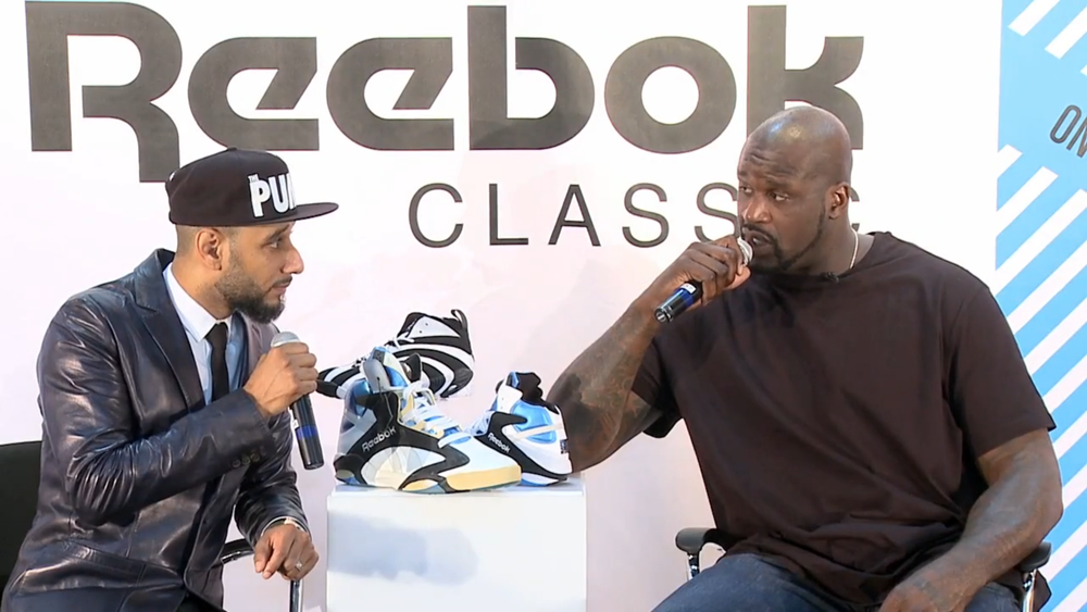 Reebok Classics Project 2013 Shaq Swizz Beatz Interview