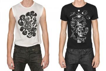 Grimes Saint Laurent Paris T-Shirt Capsule Collection