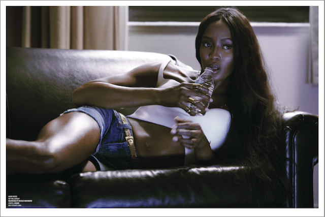 Naomi Campbell and Lindsey Wixson for V Magazine