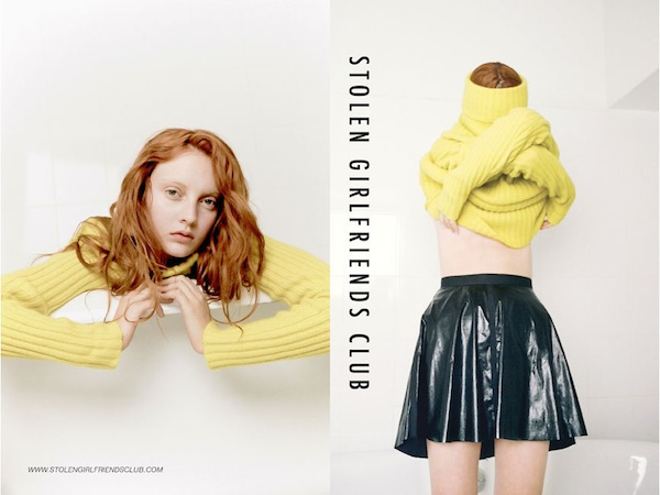 Codie Young for Stolen Girlfriends Club Winter 2013-2