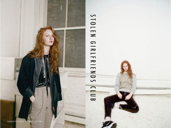 Codie Young for Stolen Girlfriends Club Winter 2013-4