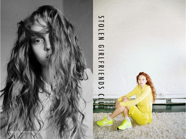 Codie Young for Stolen Girlfriends Club Winter 2013-5