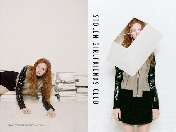 Codie Young for Stolen Girlfriends Club Winter 2013-8