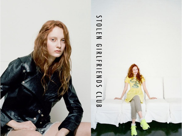 Codie Young for Stolen Girlfriends Club Winter 2013-9