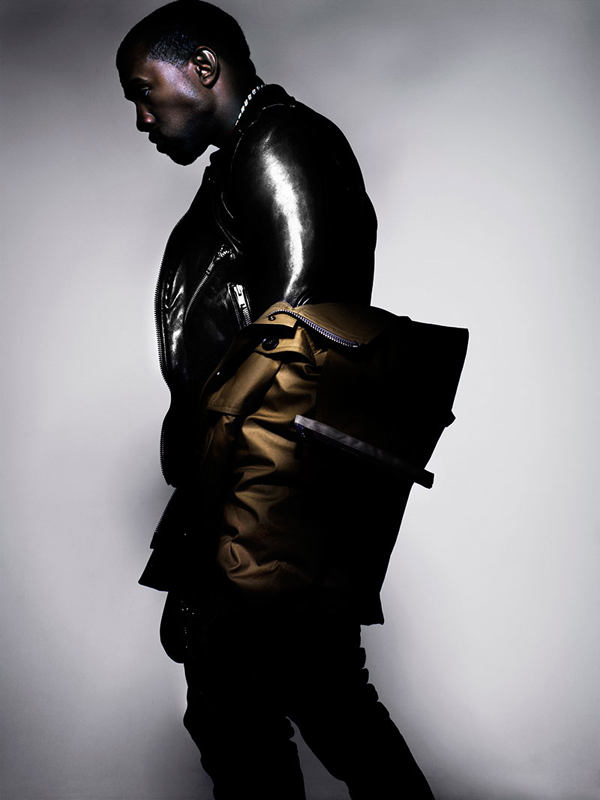 Kim Kardashian Kanye West L Officiel Homme Nick Knight