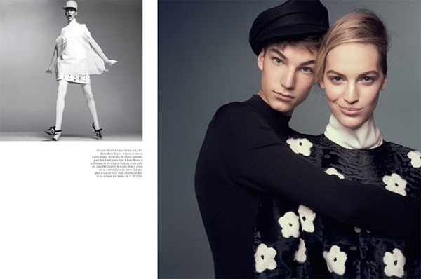 Vanessa Axente & Gustav Swedberg for Vogue Italia March 2013-2