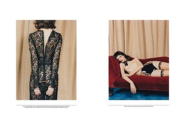 Codie Young, Manon Leloup, & Yumi Lambert for Self Service No.38 SS 2013-2