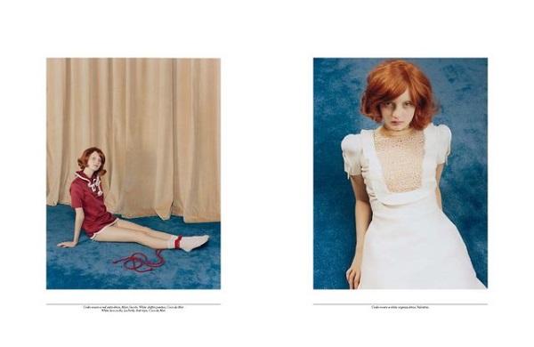 Codie Young, Manon Leloup, & Yumi Lambert for Self Service No.38 SS 2013-8