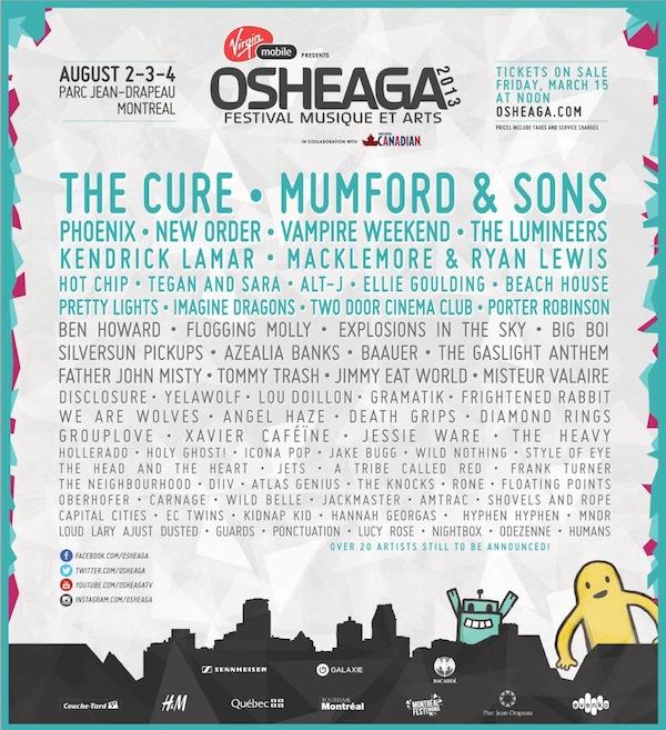 Osheaga 2013