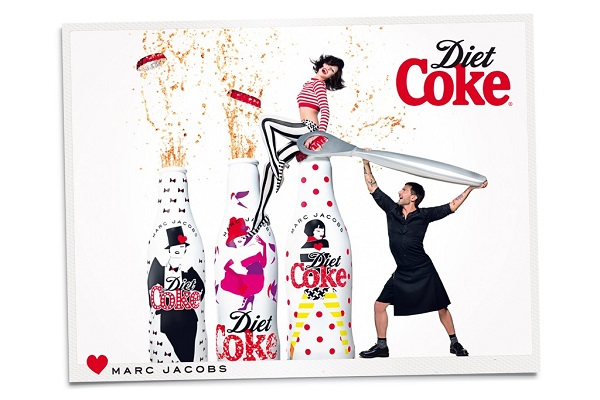 Marc Jacobs for Diet Coke