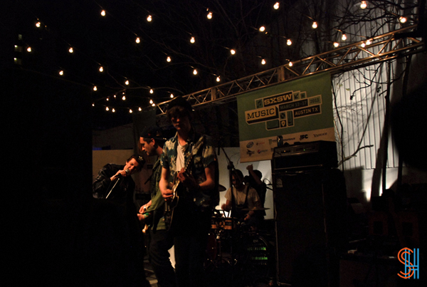Skaters at SXSW-2