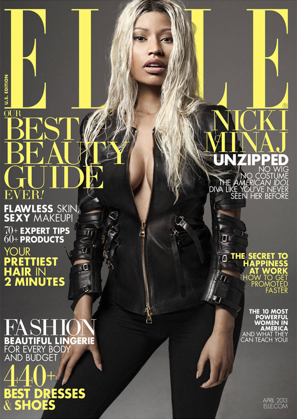 Nicki Minaj ELLE Magazine April 2013