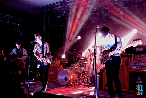 Beach Fossils at SXSW 2013-2