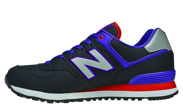 New Balance 574 Windbreaker Collection Black Blue