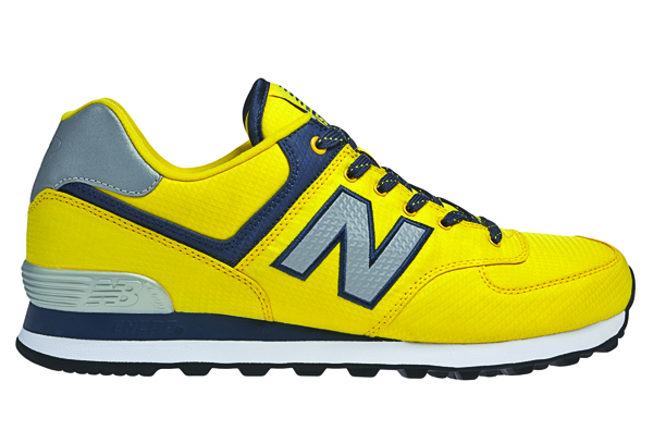 574 new balance blue yellow