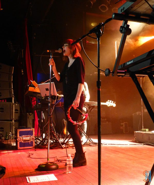 CHVRCHES at Canadian Music Festival 2013