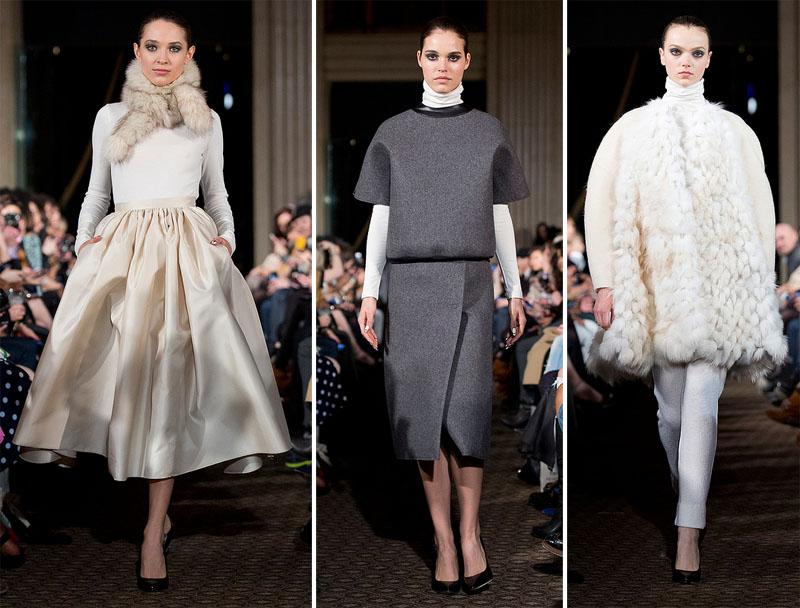 Lucian Matis Fall Winter 2013 at Toronto Fashion Week
