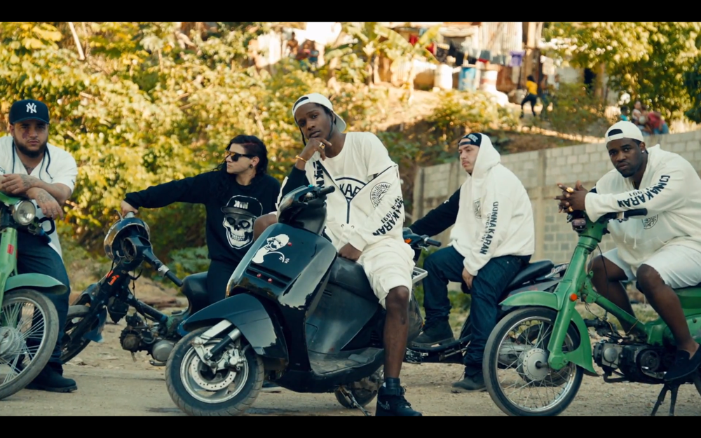 A$AP Rocky Skrillex Birdy Nam Nam Wild for the Night Music Video