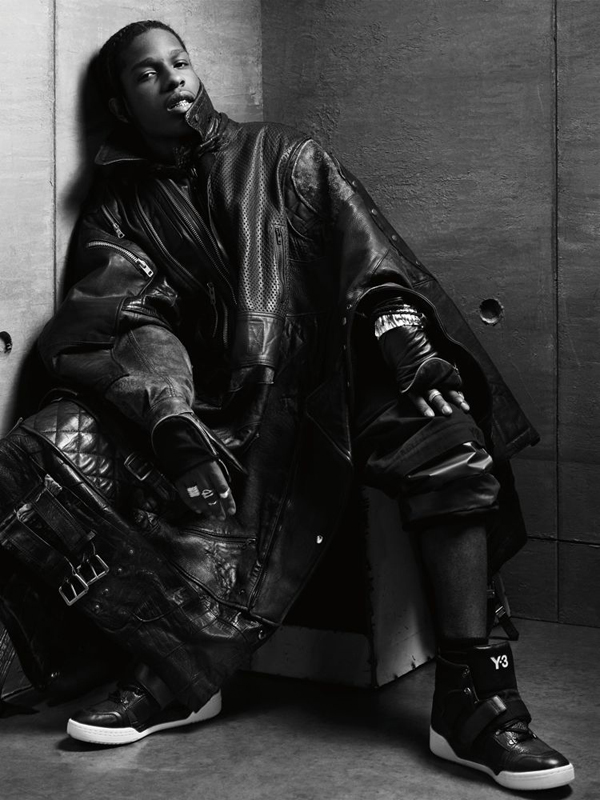 A$AP Rocky for Interview Magazine by Craig McDean
