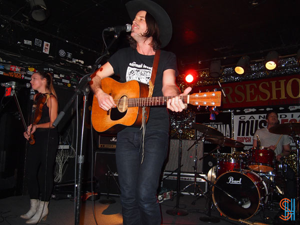 Dustin Bentall Canadian Music Festival 2013