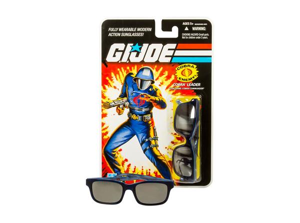 GI Joe LOOKSEE Limited Edition Eyewear Collection COBRA COMMADER