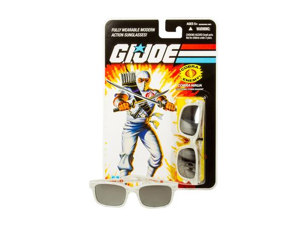 GI Joe LOOKSEE Limited Edition Eyewear Collection Storm Shadow