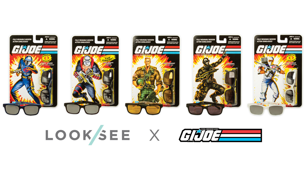 GI Joe LOOKSEE Limited Edition Eyewear Collection