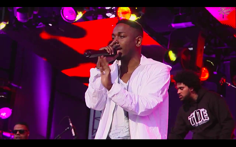 Kendrick Lamar Poetic Justice on Jimmy Kimmel Live