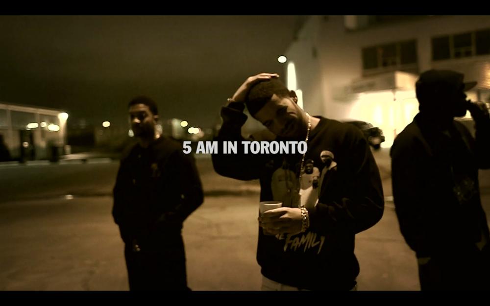 Drake 5AM in Toronto Video