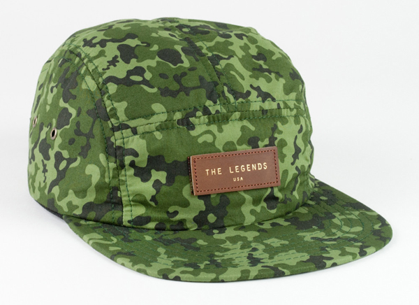 The Legends USA Spring 2013 green chip camo hat