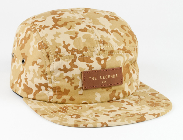 The Legends USA Spring 2013 tan-chip-camo hat
