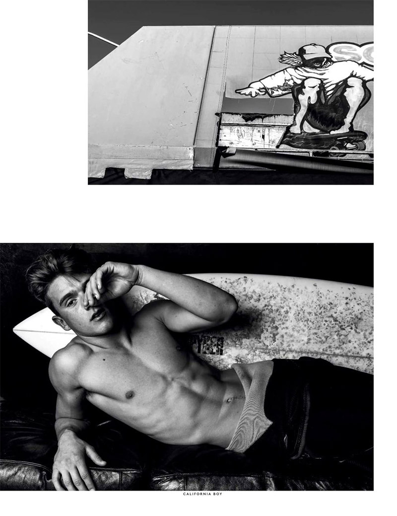 for Vogue Hommes International Spring Summer 2013