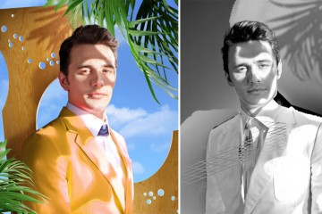 Three Portraits of James Franco for Bullett Magazine Spring 2013