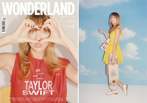 Taylor Swift for Wonderland Magazine Summer 2013-3