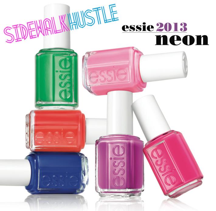 Contest: Win Essie\'s 2013 Neon Nail Polish Collection   Sidewalk Hustle